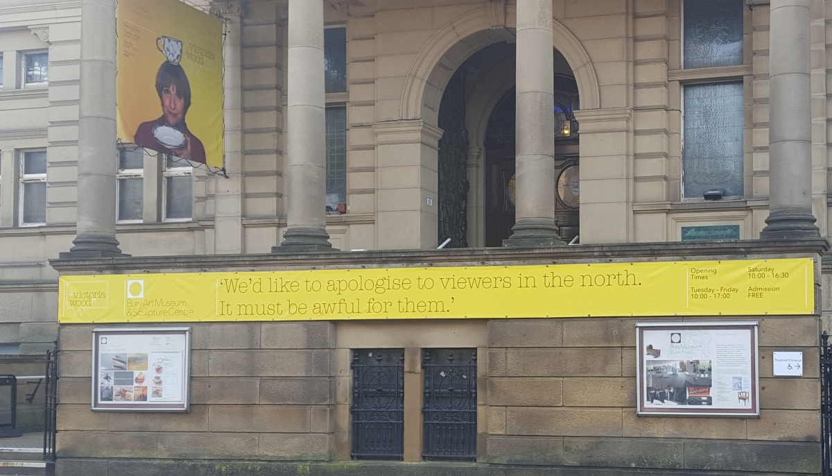 My Visit to the Victoria Wood Exhibition, Bury Art Museum. Local Admiration andInspiration.