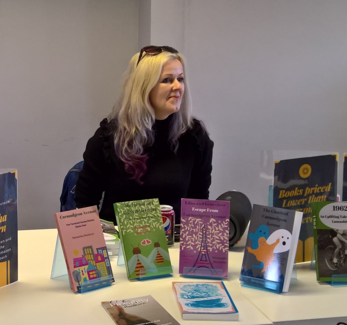My #Author Talk at The Tottington Centre #CurmudgeonAvenue #AudiobookNews
